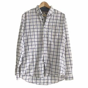 Tommy Hilfiger Large Button Down Long Sleeve Top